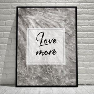 Plakat love more