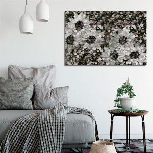 dekoracje ze stokrotkami