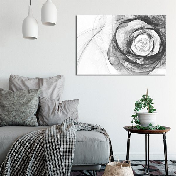 obrazy z dymną różą