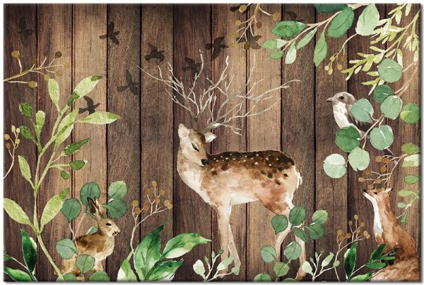 obrazy z jeleniem