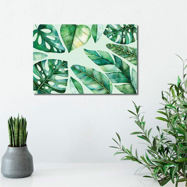 obrazy z florą