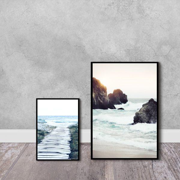 plakaty z morzem