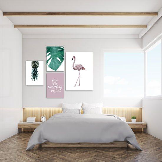 plakaty z tropikami