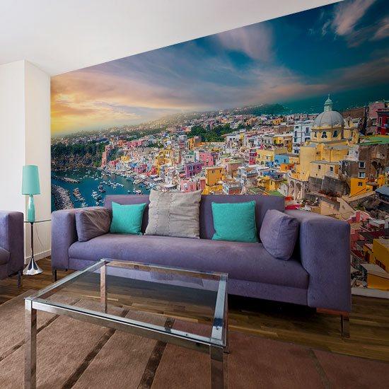 foto-tapeta z zatoką Pouzzoli