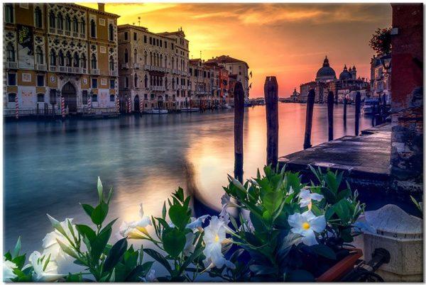 dekoracja z Wenecją