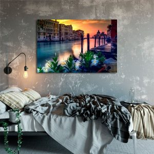 sypialnia z Wenecją