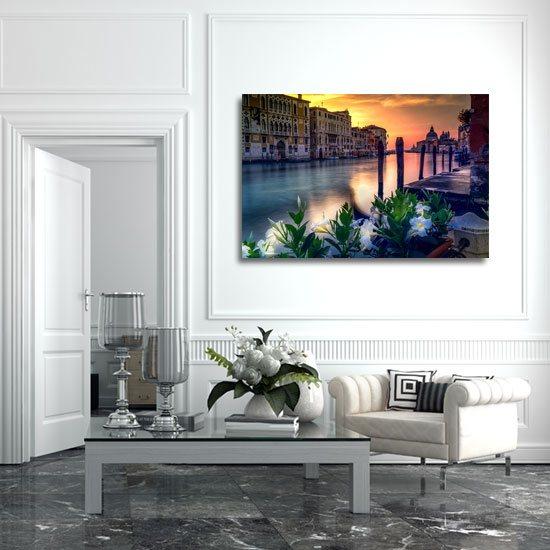 kolorowa Wenecja na obrazie