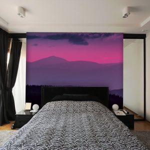 tapeta w sypialni
