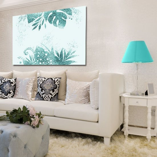 obraz do salonu tropikalny