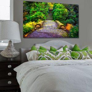 obraz do sypialni kolorowy