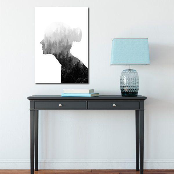 czarno-biały plakat