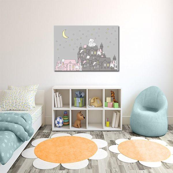 poziomy plakat do pokoju dziecka