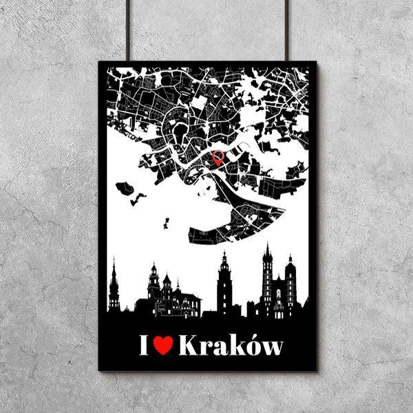 Kraków na plakacie