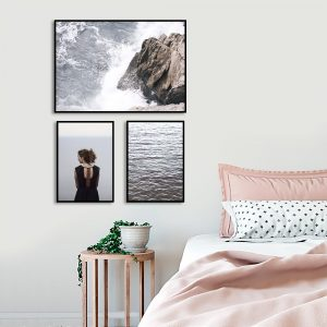 wodne plakaty do sypialni