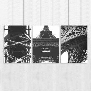tryptyk i wieża Eiffla