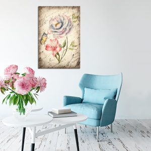 kwiat na obrazie