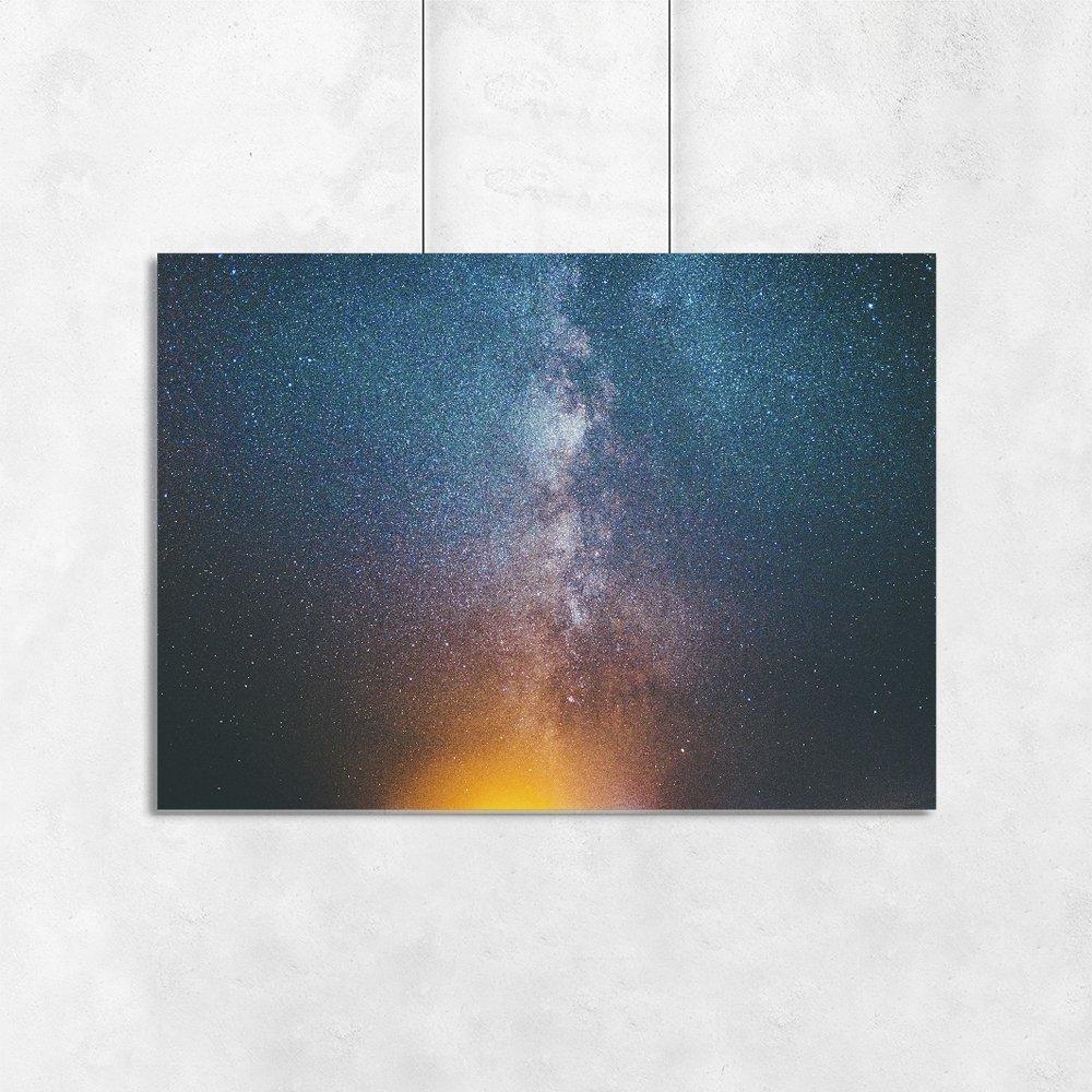 Plakat Poziomy Z Kosmosem