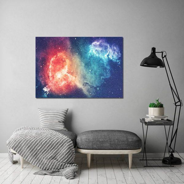 kolorowy kosmos