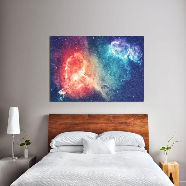 obraz z kosmosem