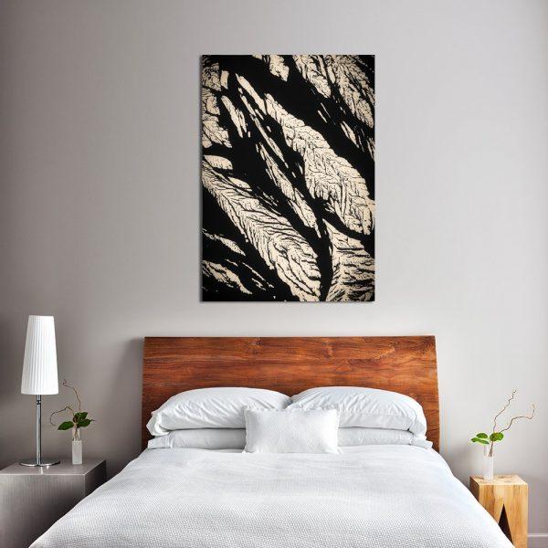 plakat do sypialni z drzewem