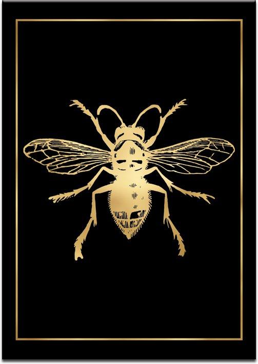 złota mucha na plakacie