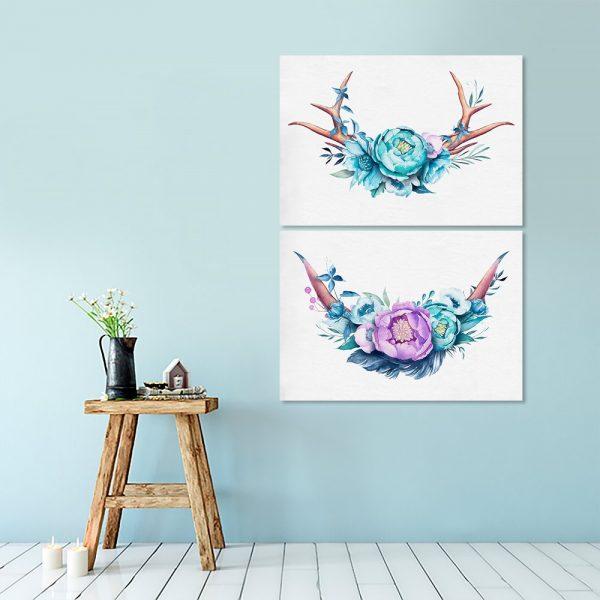 dekoracje z rogami