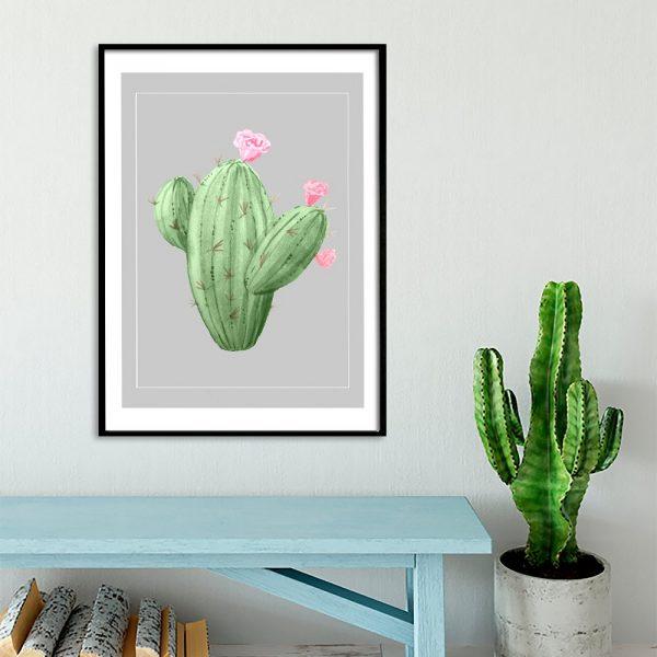 ozdoby z kaktusami