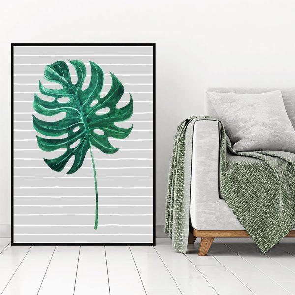 ozdoby z liśćmi