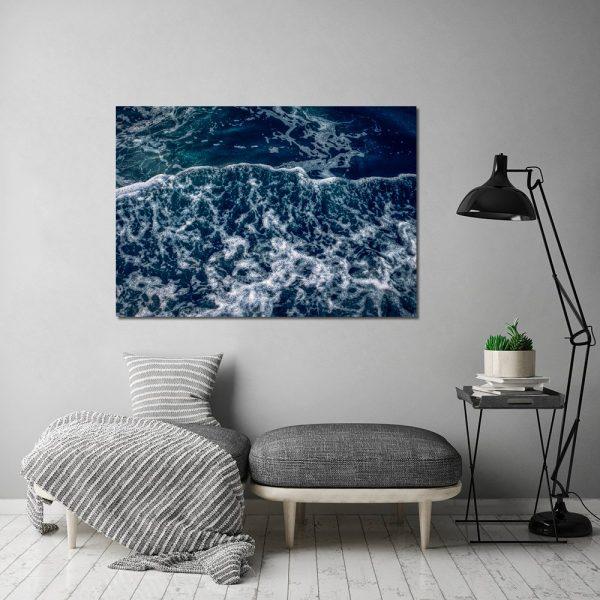 morski motyw na plakacie