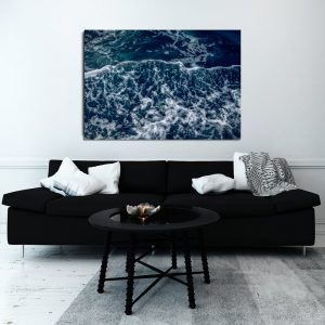 ocean jako ozdoba na plakacie