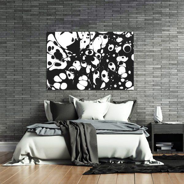 dekoracje czarno-białe