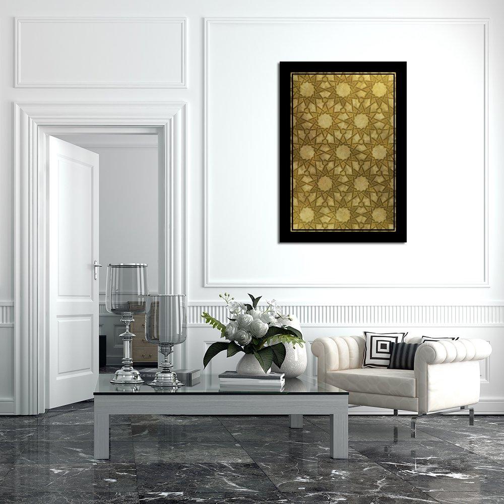 Plakat Z Mozaiką W Gwiazdy