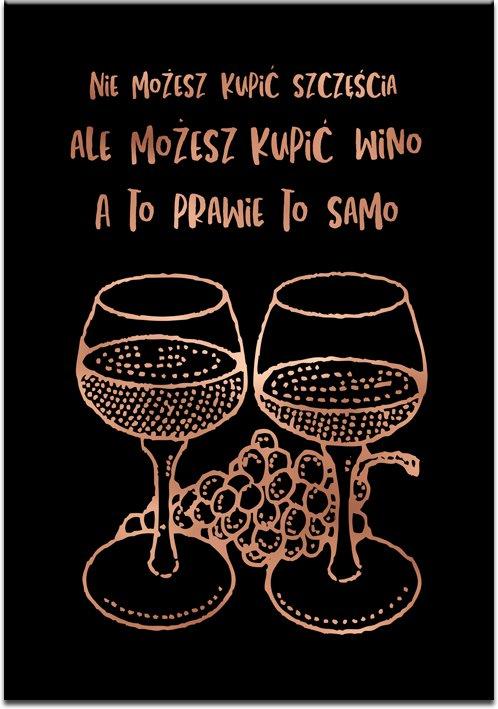 plakat o winie