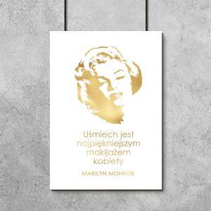 plakaty pozłacane z MM