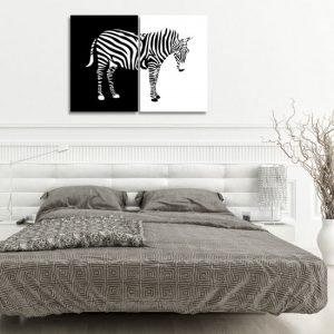 Dekoracje zebry i tygrysy