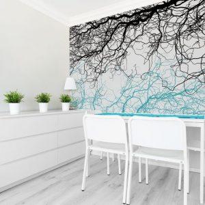Dekoracje drzewa i lasy