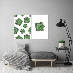 Plakaty turkusowe, miętowe, zielone