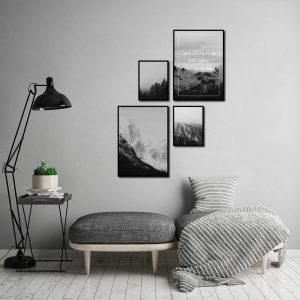 nowoczesna galeria plakatów