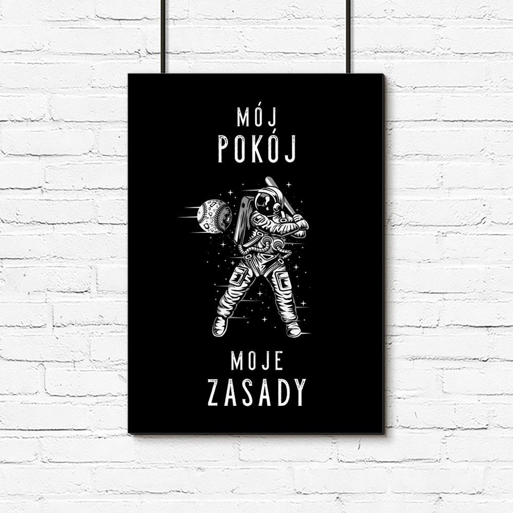 Plakat Mój Pokój Moje Zasady