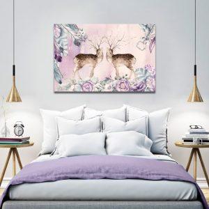 Obrazy różowe, fioletowe