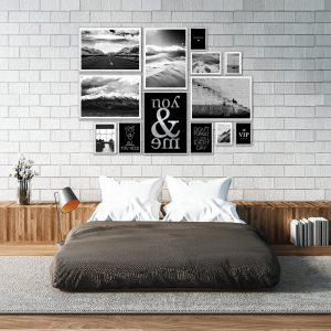 Srebrne plakaty pejzaże i widoki