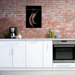 Miedziane plakaty do kuchni