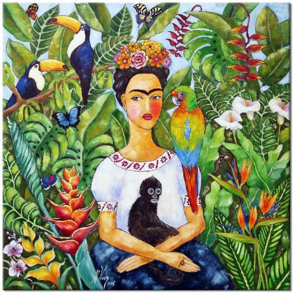 obraz portret Fridy kahlo