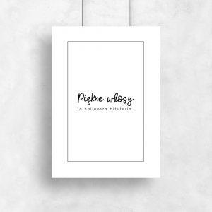 Plakat minimalistyczny