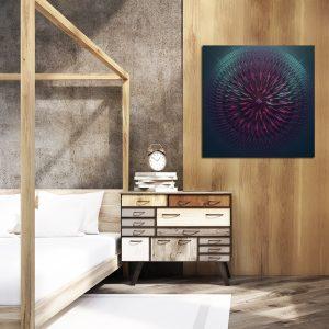 Obraz kwadratowy do sypialni