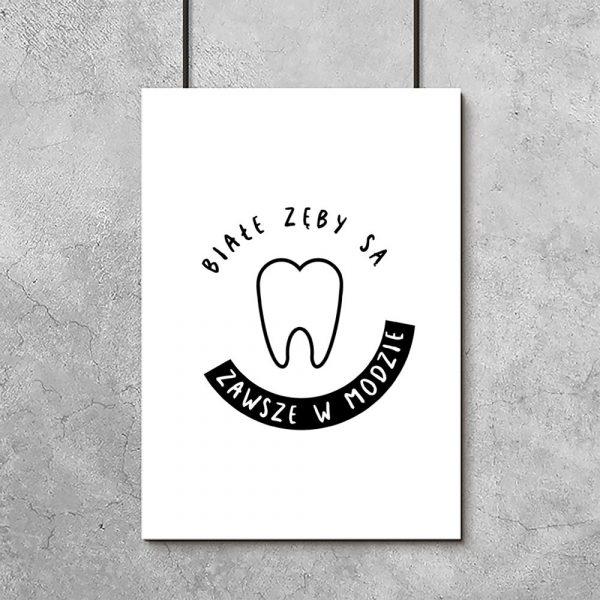 plakat dla dentysty