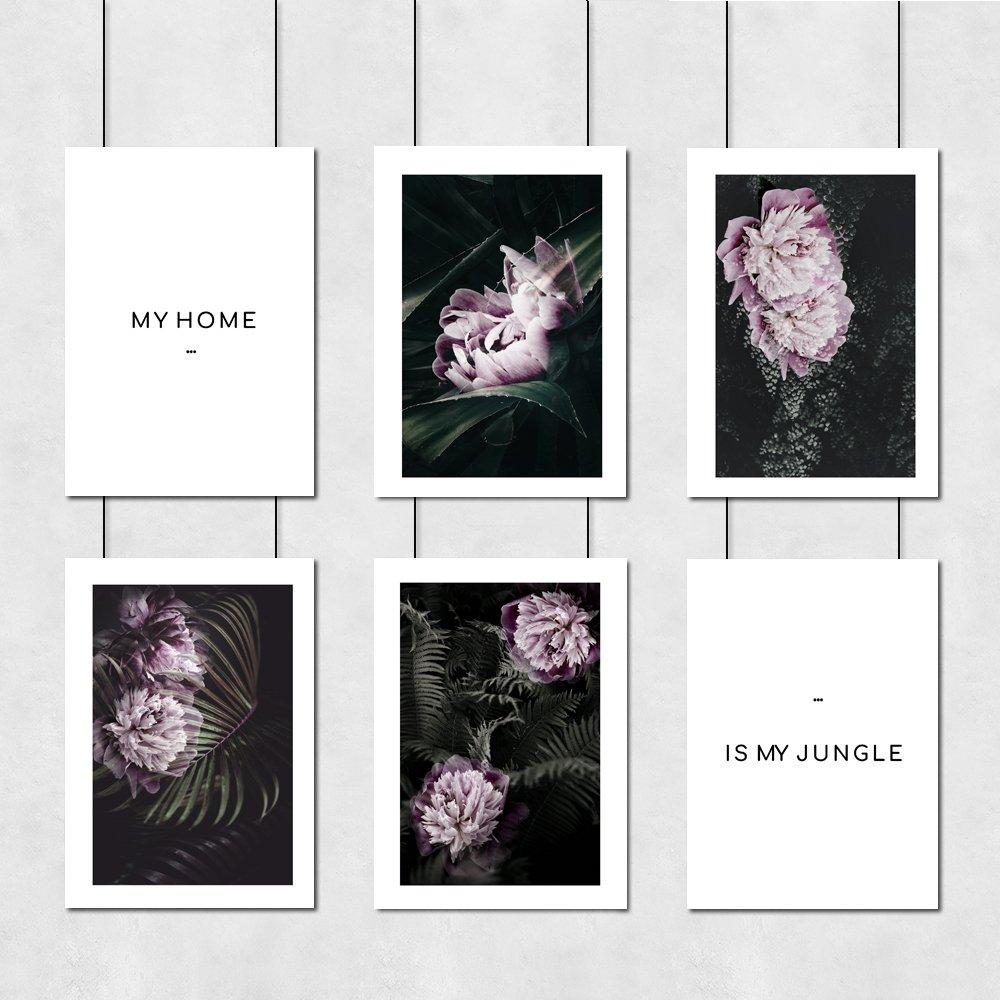 My Home Is My Jungle Zestaw Plakatów