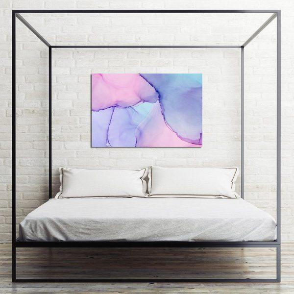 Obraz abstrakcyjny do sypialni