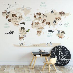 Tapeta na ścianę do pokoju dziecka