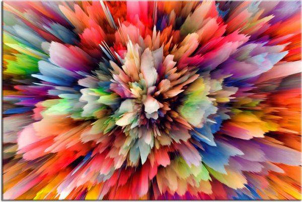 Obraz kolorowy do sypialni
